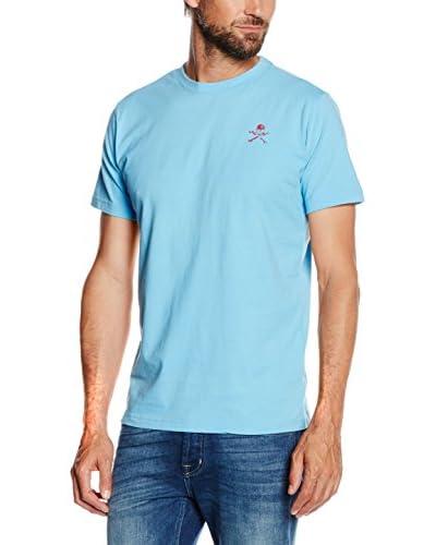 Scalpers T-Shirt Manica Corta [Blu]