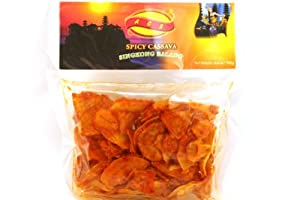 Singkong Balado (Spicy Cassava Chips) 3.5oz (Pack of 6)