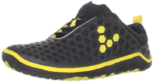 Vivobarefoot Men's Evo Ii M Black/Yellow Trainer VB220001NBLKYEL 8 UK, 42 EU