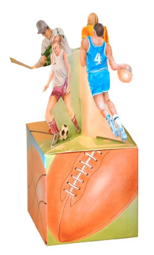 Sports Mini Gift Box Empty Party Favor Packaging 3 Inch Box 7 Inches Tall