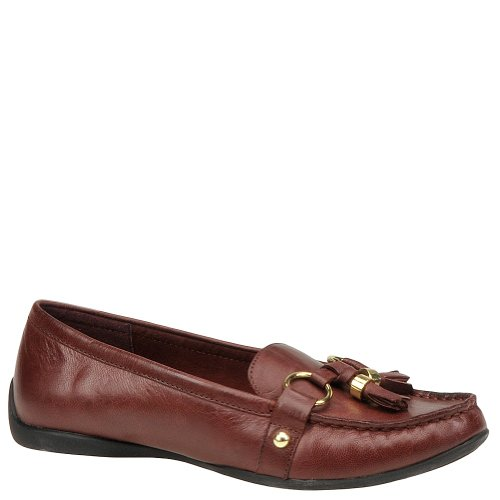 Bella Vita Women's Mallory Ornamented Loafer,Oxblood Leather,7 W US