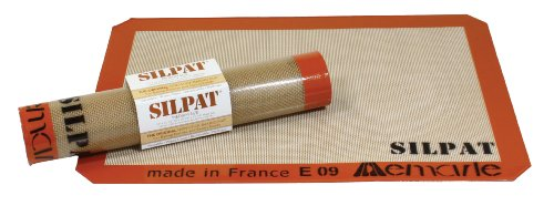 Silpat Ae365240-02 Premium Non-Stick Silicone Baking Mat, 14-1/2-Inch X 10-Inch