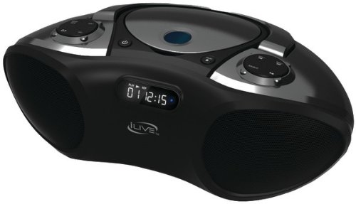 Ilive - Bluetooth(R) Boom Box *** Product Description: Ilive - Bluetooth(R) Boom Box Cd Player: Cd, Cd-R/Rw Digital Fm Radio (Pll) With Station Memory Presets Lcd Display Audio Line Input Top-Load Disc Player Digital Volume Control Built-In Speak ***