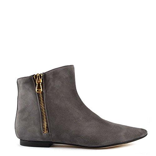 Elia B Shoes Twin Set Stivaleti, Donna 38 EU Grigio