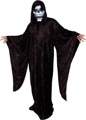 Adult Grim Reaper Costume (Size:Large 42-44)