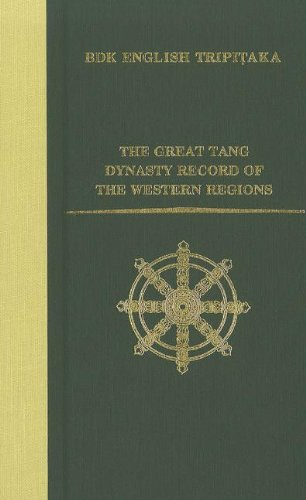 The Great Tang Dynasty Record of the Western Regions (W.M. Keck Foundation Series)