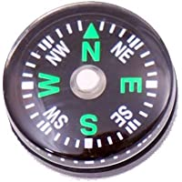 A-szcxtop TM 10pcs Mini Compass 20mm Diameter Liquid Filled Plastic Button Compass For Hiking Camping Outdoor...