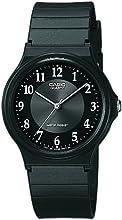 Comprar Casio - Reloj analógico de cuarzo para hombre, correa de resina color negro