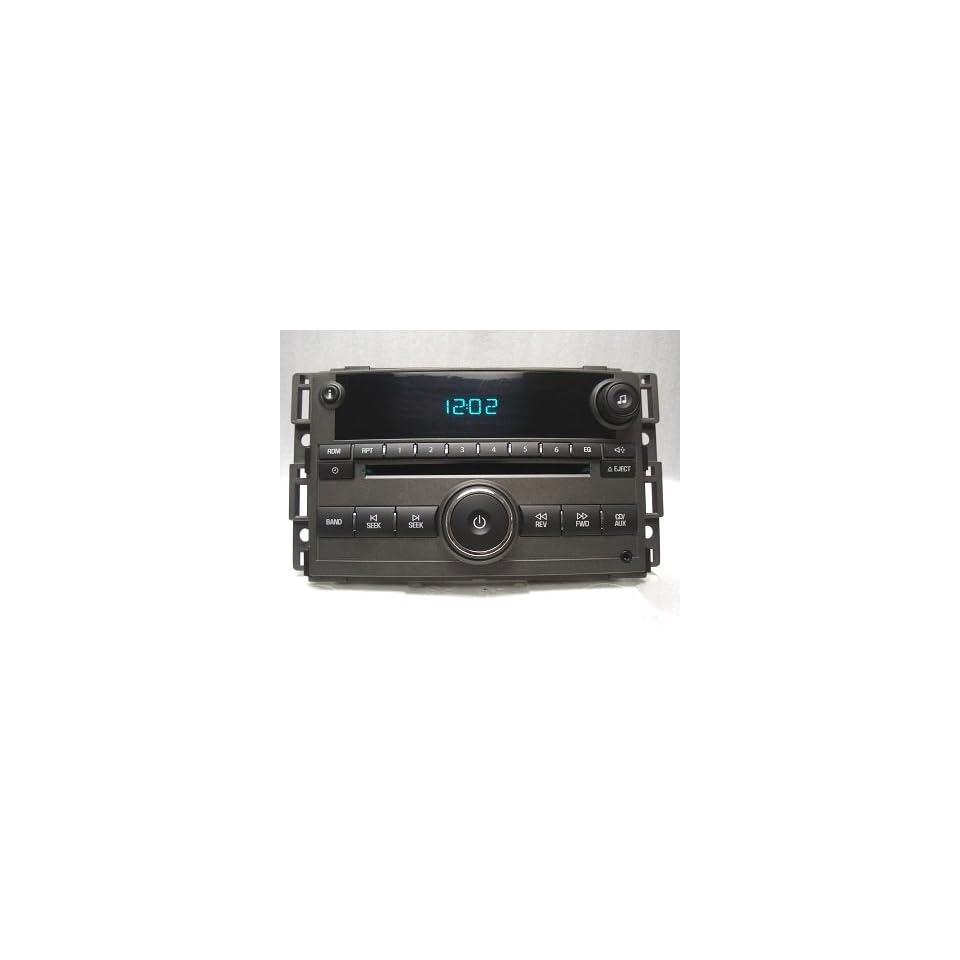 06 07 08 09 GM CHEVY COBALT HHR IMPALA G6 G5 MALIBU CD PLAYER RADIO (MADDBUYS)