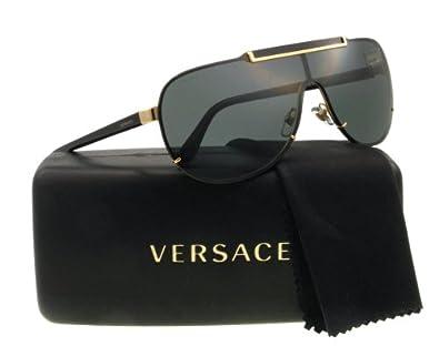 Amazon.com: Versace Sunglasses VE 2140 BLACK 1002/87