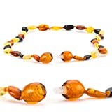 Baltic-Amber-Teething-Necklace-for-Babies-Lab-Tested-Silicone-Teething-Necklace-Gift-Set-3-Sizes-5-Colors
