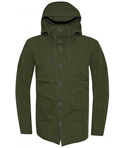 Levi's Mens Green Parka Jacket Small