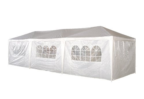 10 x 30 Palm Springs Wedding Party Tent Gazebo Canopy and Sidewalls