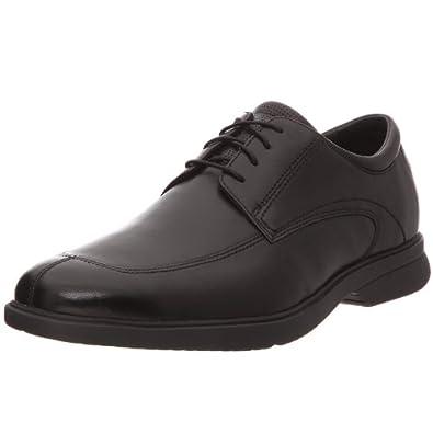Rockport Alfrew, Chaussures à lacets homme - Noir, 39 EU
