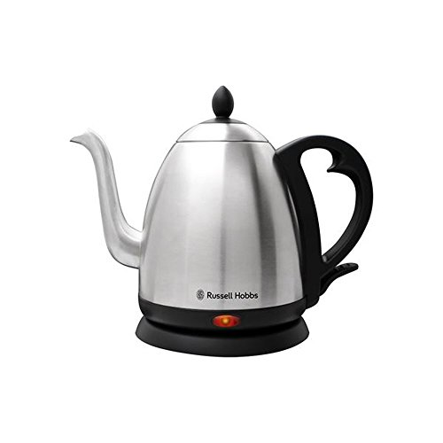Russell Hobbs Stainless Steel Electric Cafe kettle 1.0 L RH-1200KS (Glass Kettle Russell Hobbs compare prices)