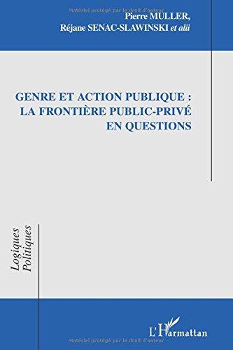 Genre et action publique : la frontière public-privé en questions