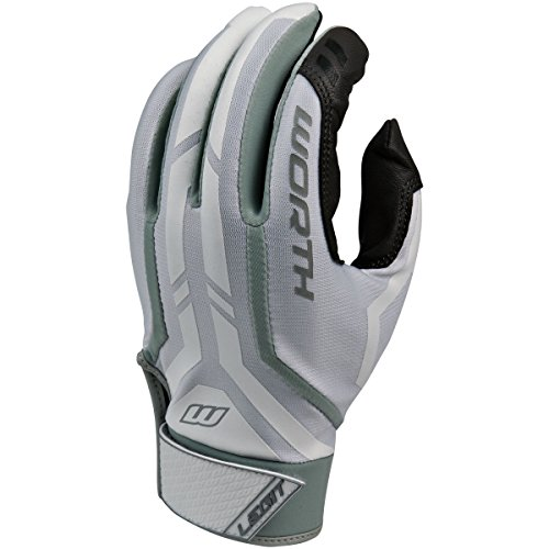 Worth Legit Slow Pitch Pair Batting Gloves, Grey, Medium (Slow Pitch Batting Gloves compare prices)