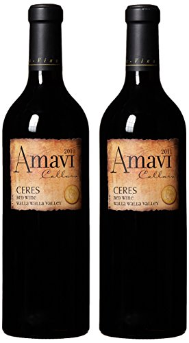 "Amavi Cellars Les Collines Vineyard ""Ceres"" 2010 & 2011 Vintage Vertical Mixed Pack, 2 X 750 Ml"