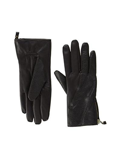 Piquadro Lederhandschuhe dunkelbraun