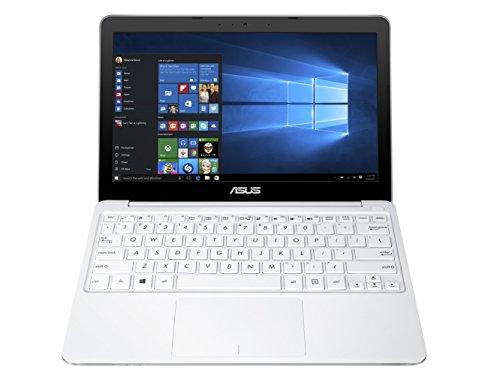 "Asus E200HA-FD0080TS PC portable 11.6"" Blanc (Intel Atom, 4 Go de RAM, SSD 32 Go, Windows 10, Garantie 2 ans) + Office 365 Personnel inclus pendant 1 an"
