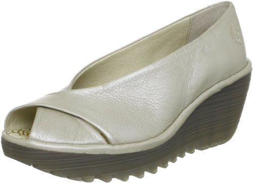 Fly London Women's Yaff Silver Comfort P500392010 4 UK