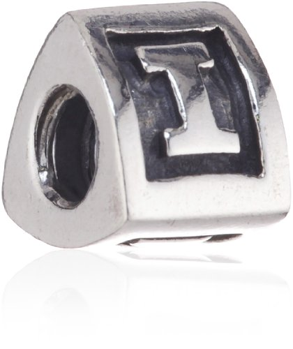 Pandora Women's Bead  Sterling Silver 925 Charm Letter