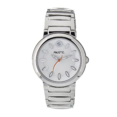 Philip Stein Men's F36S-W-EXB Quartz Stainless Steel White Dial Watch