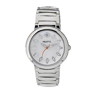 Philip Stein Men's F36S-W-EXB Quartz Stainless Steel White Dial Watch