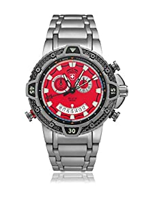 CX Swiss Military (by Montres Charmex SA) Typhoon Yachtimer scuba Red