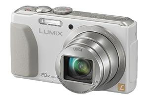 Panasonic DMC-TZ41EG9W Digitalkamera (18,1 Megapixel, 20-fach opt. Zoom, 7,5 cm (3 Zoll) Touchscreen, 5-Achsen bildstabilisator) weiß