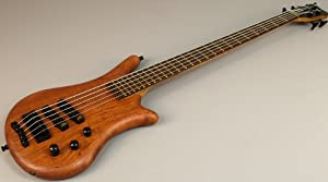 Warwick German Thumb Bo Natural Bubinga 5 String Electric Bass Guitar