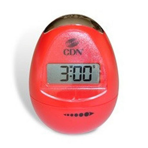 CDN TM12-R Digital Egg timer, Pearl Red (Industrial Timer Digital compare prices)