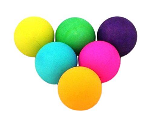 Donic-Schildkröt Colour Popps Confezione di 6 Palline per Tennis Tavolo, Multicolore