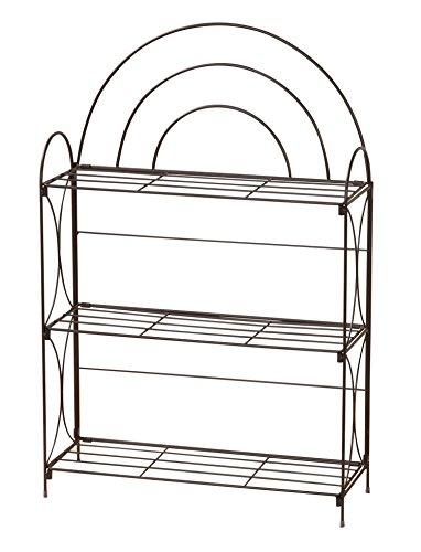 Why Should You Buy Miles Kimball 3 Tier Wire Media Shelf