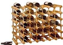 Buy Cheap J.K. Adams Hardwood 40-Bottle Wine Rack