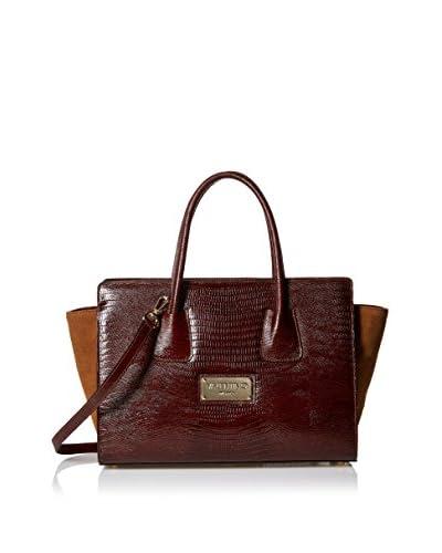 Valentino Bags by Mario Valentino Women's Kiria Satchel, Rust