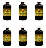 Tropic Isle Jamaican Black Castor Oil 8 oz (Pack of 6) Big Sale!!!