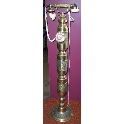 Amazon.com: Brass Pedestal Tall Rotary Telephone