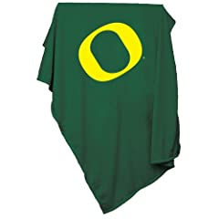 Brand New Oregon Ducks NCAA Sweatshirt Blanket Throw by Things for You