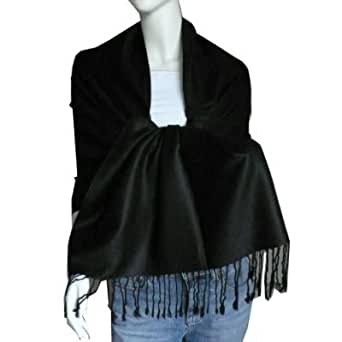 New Best Soft Pashmina/Shawl/Scarf/Wrap/Stole (black)