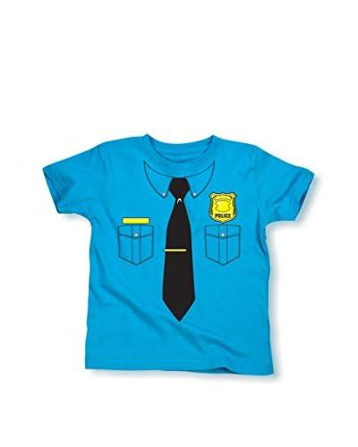 Tuxedo Tees Kid's Police Officer Short Sleeve Tee