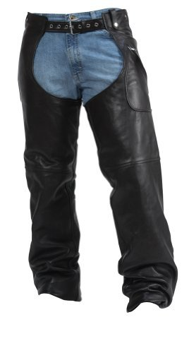 Milwaukee Motorcycle Clothing Company MMCC Gunslinger Unisex Chap (Large) (Milwaukee Motorcycle Company compare prices)