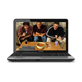 Toshiba Satellite L755-S5350 15.6-Inch LED Laptop - Fusion Finish in Matrix Silver