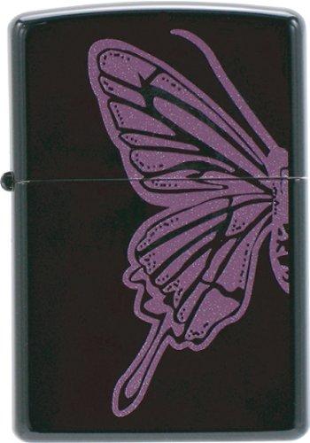 Zippo JapanModel Purple ButterflyB