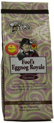 The Coffee Fool Espresso Coffee, Fool'S Eggnog Royale, 12 Ounce