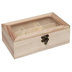 Design your own unfinished wood 9 compartment for Design your own wooden ring