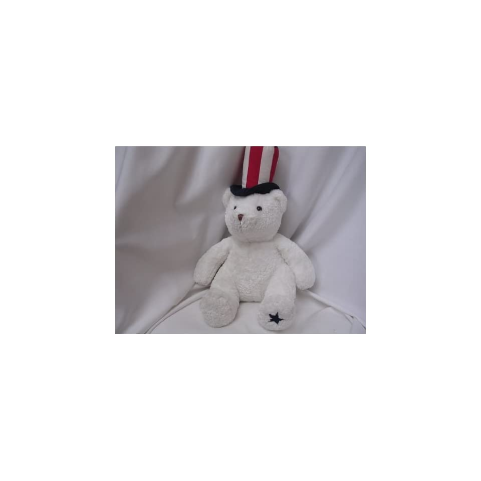 Election Year Teddy Bear Plush Toy Patriotic USA 18 Collectible ; Glory