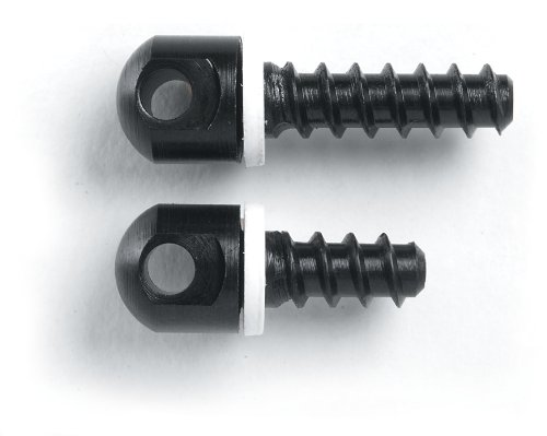 Uncle Mike'S 115 Rgs Sling Swivel Wood Screw Set, One Each 1/2-Inch And 3/4-Inch Screws