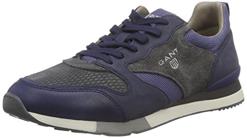 GANT Russell, Low-Top Sneaker uomo, Blu (Blau (blue multi  G63)), 44