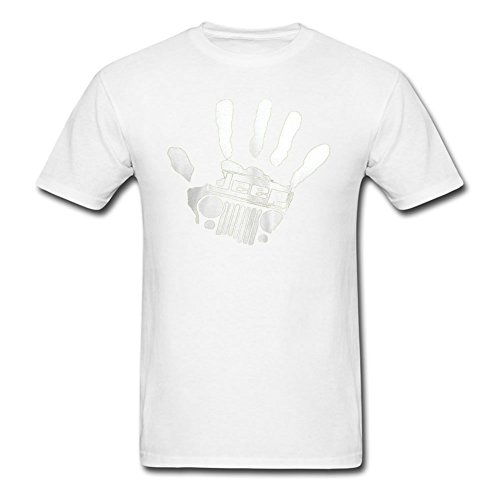 Jeep Wave Handprint Grill T Shirt